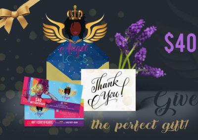 Angel Locs $40 Gift Certificate