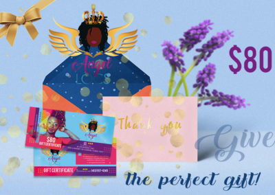 Angel Locs $80 Gift Certificate